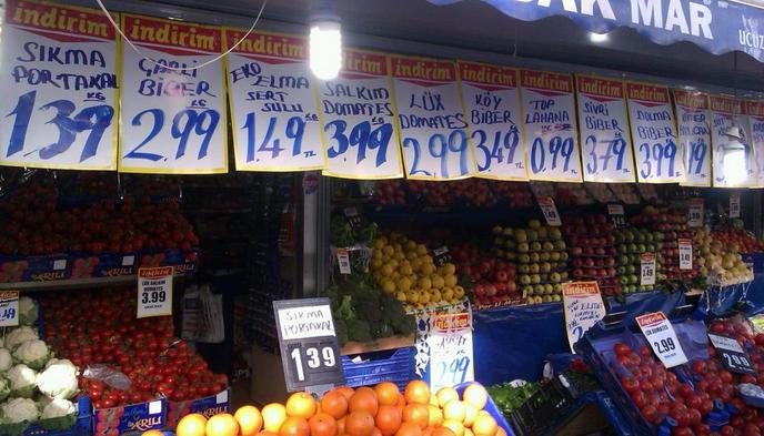 Fiyatlar aldatıcı olmasın fotoğraf Ocak 2013'ten.
