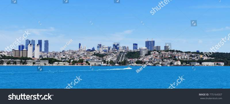 stock-photo-istanbul-turkey-june-a-speed-boat-sailing-through-istanbul-s-european-side-on-775164307