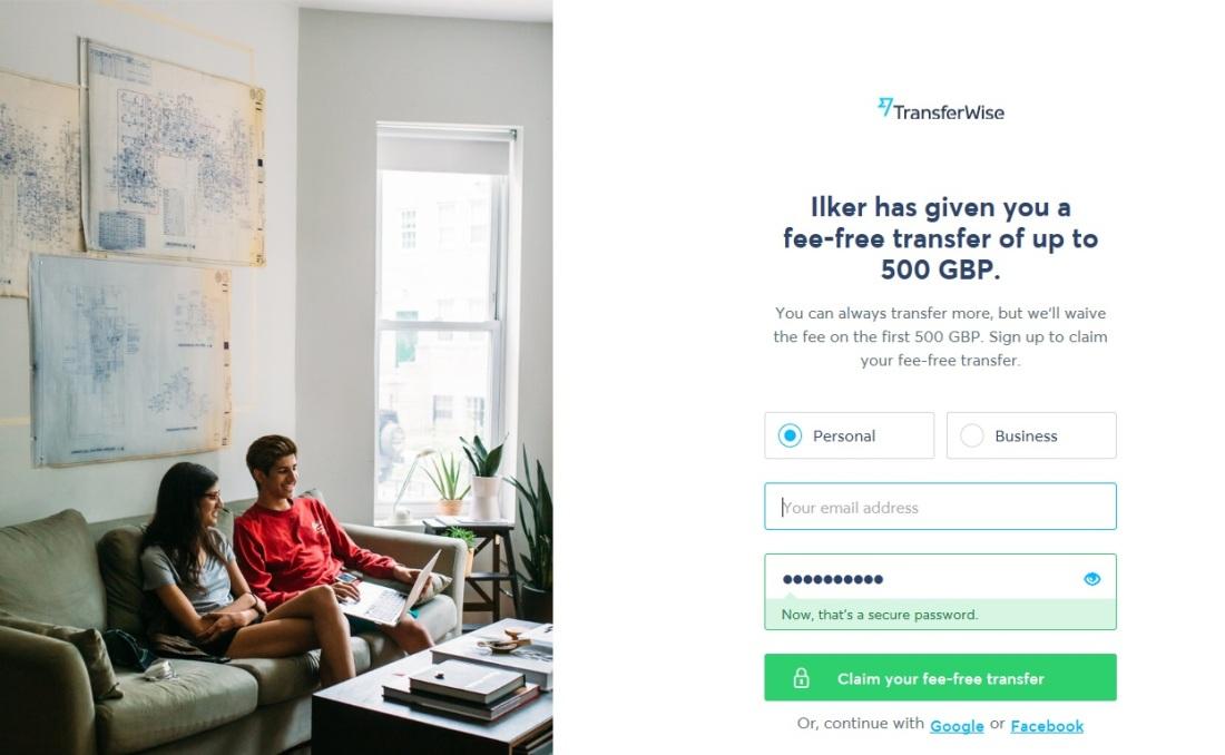 TransferWise yurtdışına para göndermek ucuz